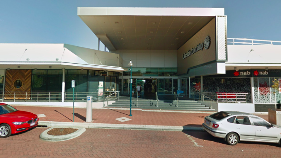 Lakeside Joondalup Shopping Centre in Perth. Source: Google Maps