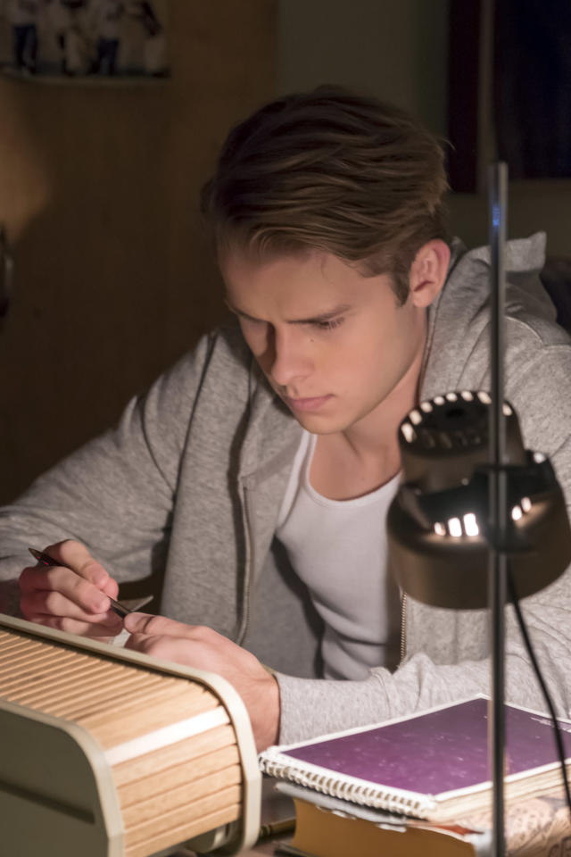 <p>Logan Shorter as Kevin in NBC's <i>This Is Us</i>.<br> (Photo: Ron Batzdorff/NBC) </p>