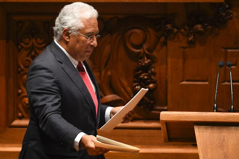 """Portuguese Prime Minister Antonio Costa said foreign investment does not worry Portugal and the EU should not """"take the path of protectionism"""" (AFP Photo/PATRICIA DE MELO MOREIRA)"""