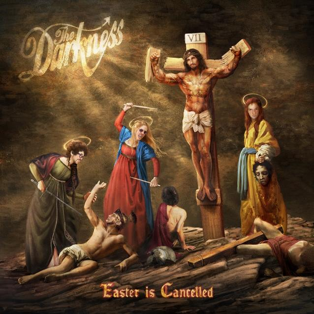 The Darkness, 'Easter Is Cancelled' (Photo: Cooking Vinyl)