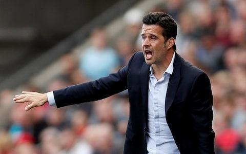 "Everton have opened talks with Marco Silva to become their new manager after formally ending Sam Allardyce's acrimonious reign on a day the axe fell with frequency at Goodison Park. Director of football Steve Walsh was also dismissed within hours of Allardyce, along with the outgoing manager's backroom staff. Walsh is replaced by Dutchman Marcel Brands, who immediately prioritised appointing the next head coach. Meetings with Silva's representative were stepped up instantly. Silva was Everton's first choice when Ronald Koeman was sacked in November, so there is no surprise his agent, Carlos Goncalves, was swiftly contacted with another recruitment process under way. Watford are seeking compensation from Everton so it may yet cost £8 million to settle differences with the Vicarage Road club, who reserve the right to pursue a Premier League complaint for an alleged ­illegal approach to their ex-coach dating back to before Silva's sacking in January. Everton's majority shareholder Farhad Moshiri had concluded due diligence on Silva before feeling compelled to appoint Allardyce. Everton want Marco Silva to replace Allardyce Credit: Reuters It is hoped Silva will bring youth, dynamism, ambition and a pacier style to Goodison Park, something the supporters feel was lost in a torturous campaign which has seen three managers try and fail to secure their position. Allardyce was called to a scheduled meeting with Moshiri in London at 8.30am yesterday. Confirmation of his dismissal came 75 minutes later. Newly appointed chief executive Denise Barrett-Baxendale explained why. ""We have made the decision that, as part of our longer-term plan, we will be appointing a new manager this summer and will be commencing this process immediately,"" she said. Allardyce leaves with neutrals offering more sympathy than Everton fans, who never wanted him before he was recruited and grew increasingly intolerant while he was in post. He was employed at a time when the club was genuinely threatened with relegation in the aftermath of a dismal summer of recruitment, and Koeman's poor start to the season. England's World Cup 2018 squad - ranked David Unsworth was given the chance as a caretaker, but could not acquire the necessary points during a tough run of fixtures to convince he should be retained as head coach. Allardyce arrived just as Unsworth had overseen the most encouraging performance of the season – a 4-0 win over West Ham – and the controversy of who deserved credit for that victory summed up the divisiveness of reign. The new manager was in the stands, but Unsworth was still in charge. Evertonians partially understood why he was given the job short-term, but did not welcome his receiving an extra year on his contract. He made two significant signings in January, adding Theo Walcott and Cenk Tosun, but it irked Evertonians when exciting youngster Ademola Lookman moved to RB Leipzig on loan, where he performed well. Allardyce's was not the only blood on the carpet on Wednesday. Six hours later, Everton announced Brands' arrival and Walsh's exit. Walsh was headhunted from Leicester City having been credited for overseeing their triumphant title season. Moshiri hoped he would be equally intuitive at Goodison Park, but the return on his investment last season was pitiful. Of last summer's deals – costing in excess of £100 million – only goalkeeper Jordan Pickford was a success. Pick your England World Cup 2018 squad Now the Merseyside club turns to Dutchman Brands, 56, who joined PSV Eindhoven having previously been instrumental in transforming the fortunes of RKC Waalwijk and AZ Alkmaar. ""It is a privilege to be joining Everton as director of football and I am incredibly excited to take on this challenge,"" said Brands. ""The fantastic passion of the fans for their club, the magnificent history of the club over the years and the ambition and purpose we have as people tasked with driving the club forward all mean that we need to be competing for honours against the Premier League elite. ""It is only a challenge such as this which could have persuaded me to leave PSV."" Moshiri claimed Brands' arrival will make the club ""better and more equipped to challenge the top teams in the Premier League"". He needs the changes to work after some expensive missteps during his tenure so far. Since Moshiri invested in Everton, the club has sacked three managers – Roberto Martinez, Koeman and Allardyce. Wayne Rooney's future should also become clearer by the end of this week. If it becomes clear to him the likely next manager does not see him as a key part of his plans, the former England captain may accept the offer to join DC United."