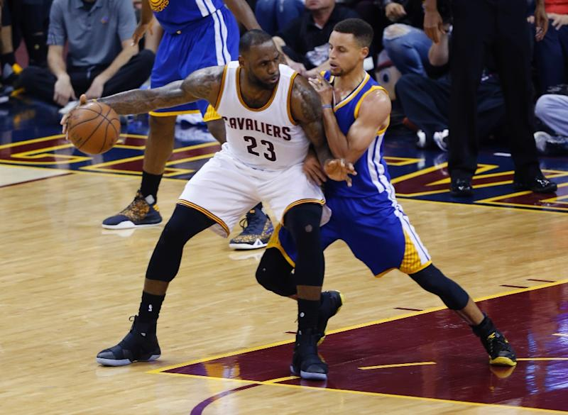 Cavaliers try to pull level with Warriors in NBA Finals 9ddace4f7