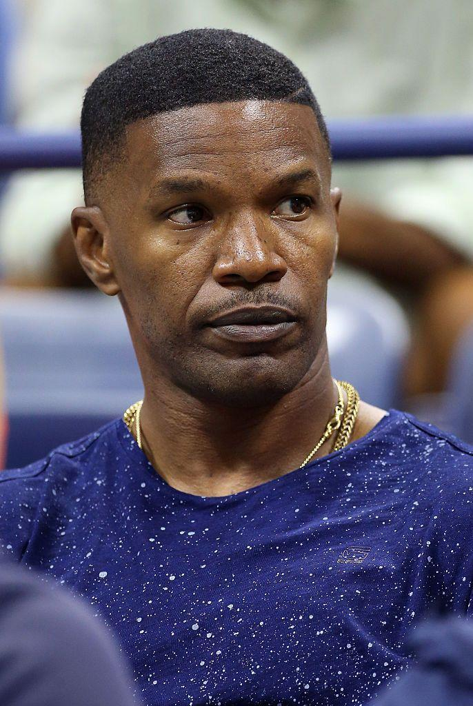 <p>For some reason, without the goatee, Jamie Foxx just isn't Jamie Foxx.</p>