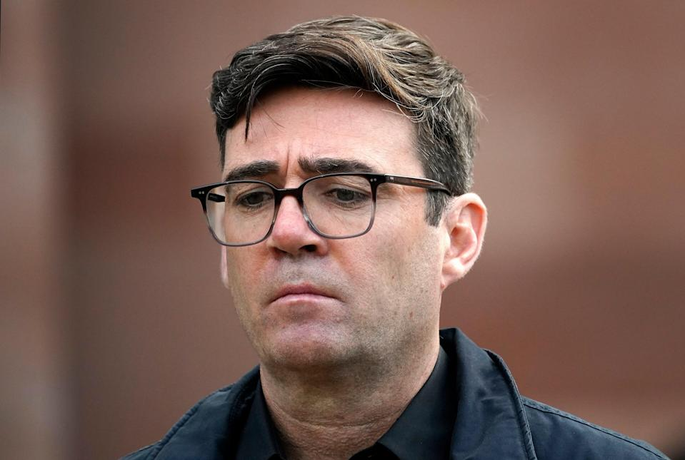 Greater Manchester mayor Andy Burnham (Getty Images)