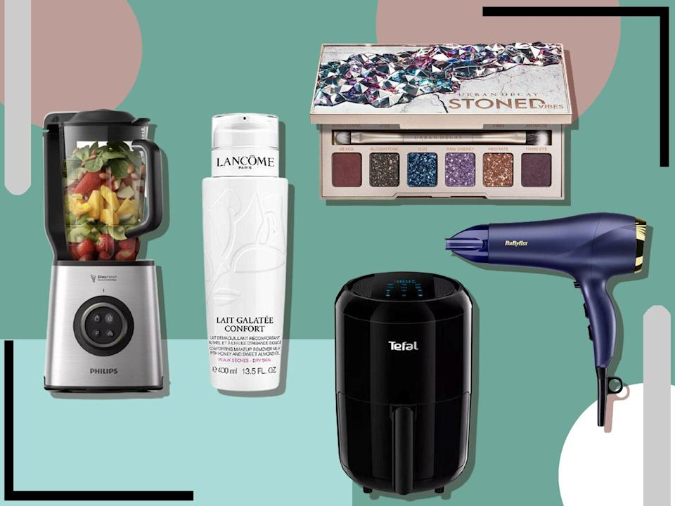 <p>There are huge discounts available on products from trusted brands</p> (The Independent)