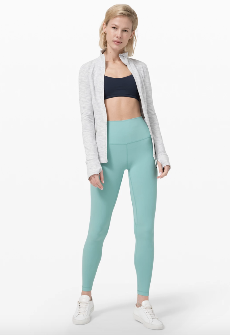"""Align Pant 28"""" in tidewater teal"""