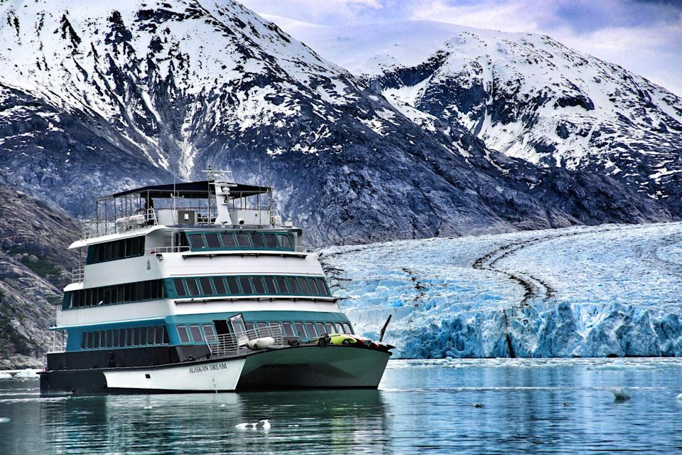 """<p>The smaller vessels, which often carry fewer than 200 passengers, can access dazzling fjords, bays, caves and waterside towns that large ships simply can't reach. Offering different expeditions ranging from five to eight nights, <a href=""""https://www.alaskandreamcruises.com/"""" rel=""""nofollow noopener"""" target=""""_blank"""" data-ylk=""""slk:Alaskan Dream Cruises"""" class=""""link rapid-noclick-resp"""">Alaskan Dream Cruises</a> specializes in sails through the state's most scenic routes. </p>"""