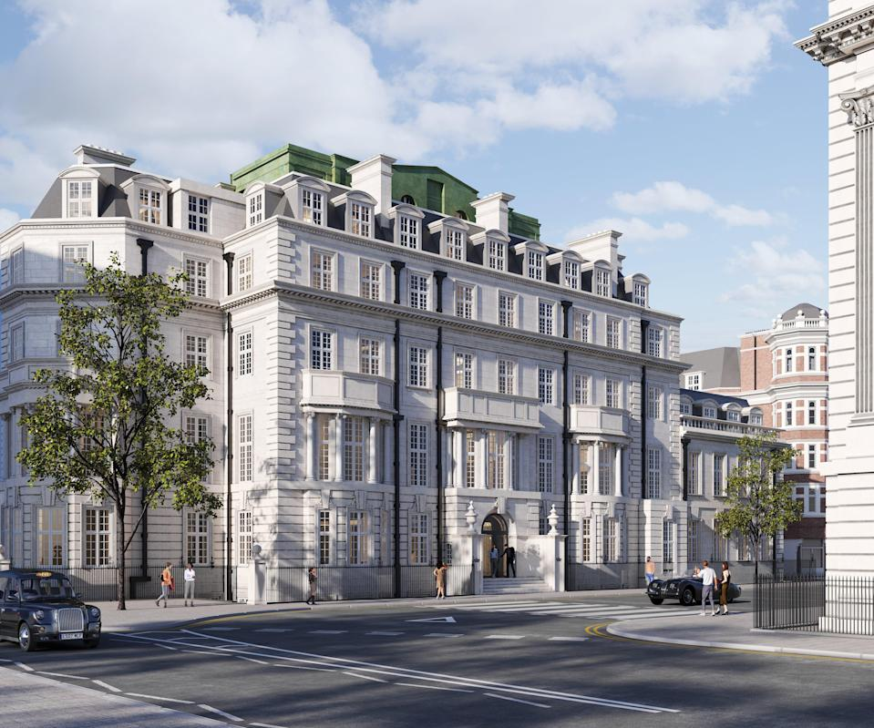 The 42,500 sq ft venue, to be called The Twenty Two, will have 31 bedrooms and an all-day restaurant  (Handout)