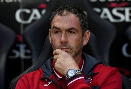 Soccer Football - Carabao Cup Second Round - Milton Keynes Dons vs Swansea City - Milton Keynes, Britain - August 22, 2017   Swansea City manager Paul Clement    Action Images via Reuters/Tony O'Brien