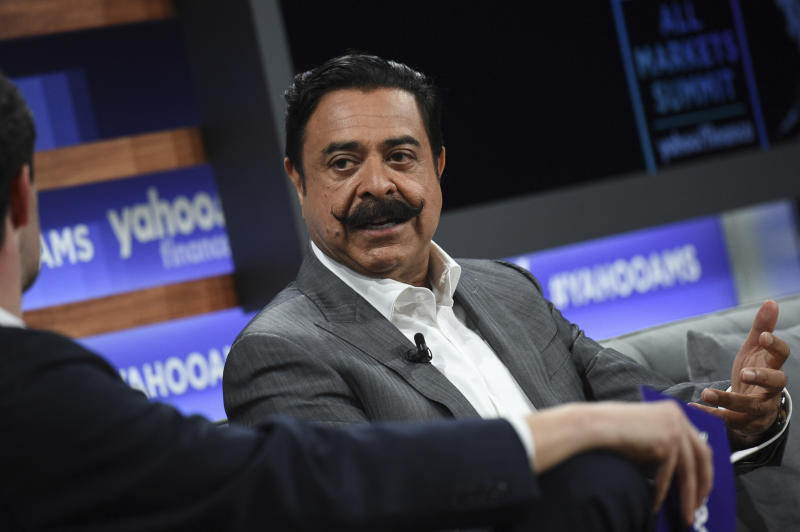 Jacksonville Jaguars owner Shad Khan wrote a long essay on social injustice. (Photo by Evan Agostini/Invision/AP)