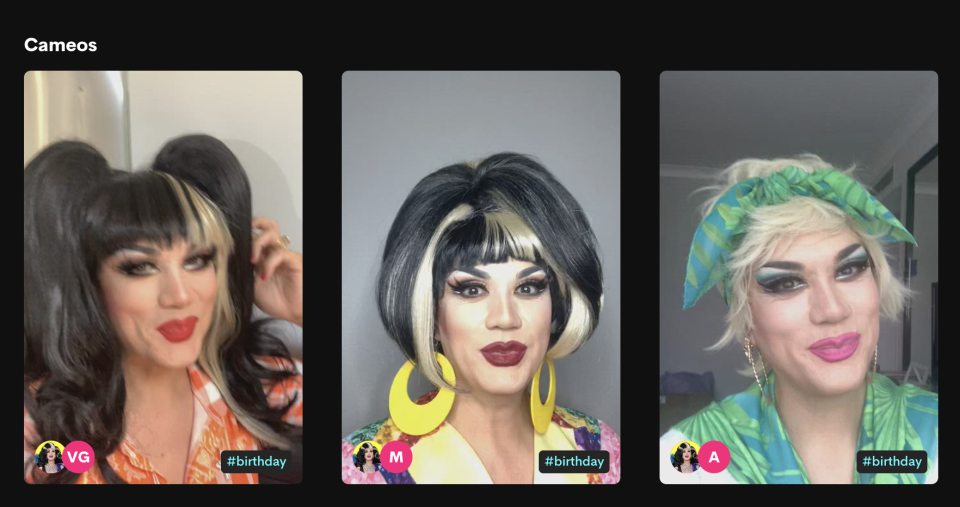 Screen grab from Manila Luzon's Cameo Page