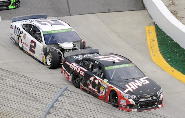 Chrome Horn Post-Martinsville Debrief: Kurt, Brad and Jeffrey Racing?
