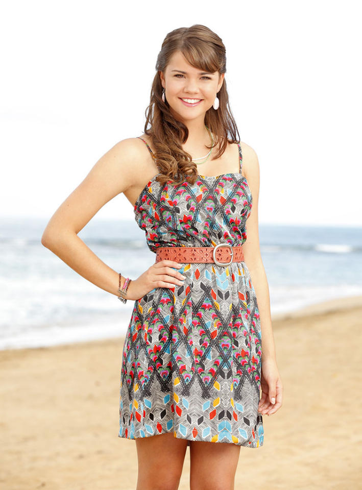 "Maia Mitchell stars as McKenzie on Disney Channel's ""Teen Beach Movie."""