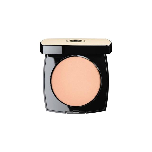 Ideal for sensitive skin, thanks to soothing ingredients like cotton flower and white rose, a swirl of this luminous powder sets foundation and warms up a sun-starved complexion. Chanel Les Beiges Healthy Glow Sheer Colour SPF 15, $58, chanel.com