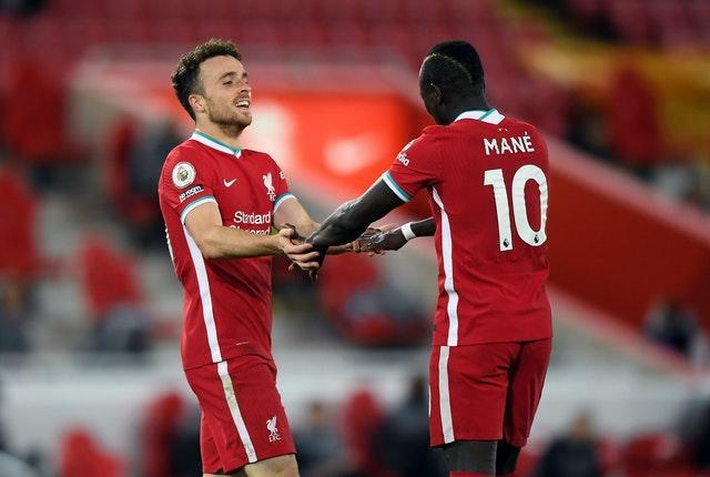 Jota has slotted in seamlessly alongside Liverpool's established front three