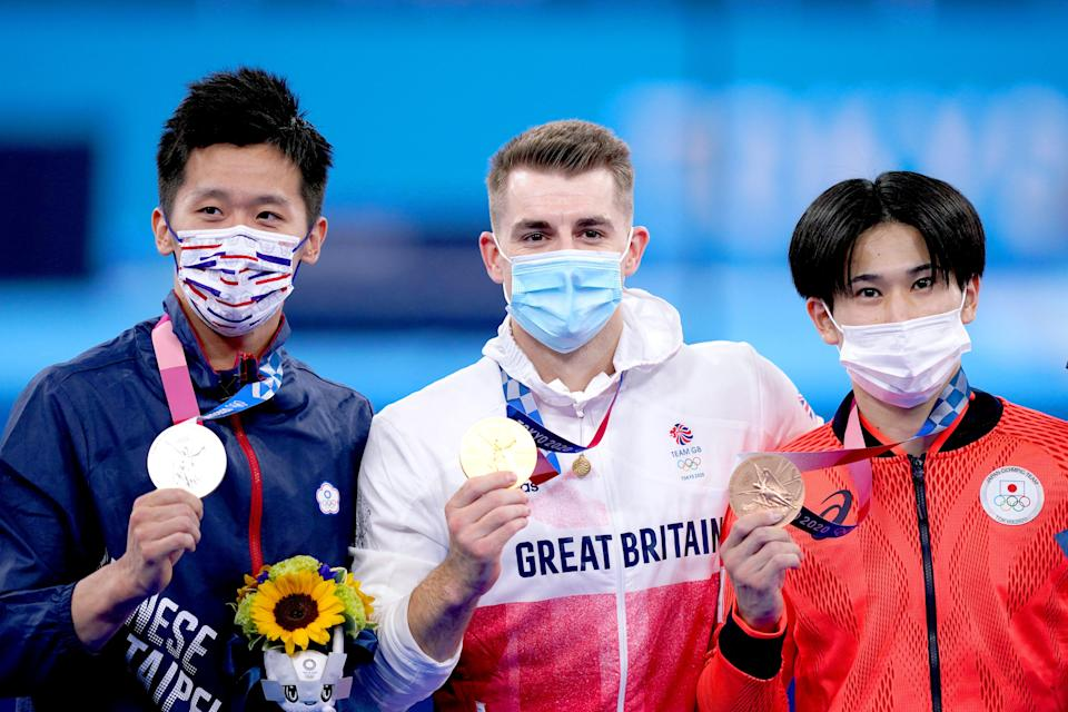 Max Whitlock defended his title (Mike Egerton/PA) (PA Wire)