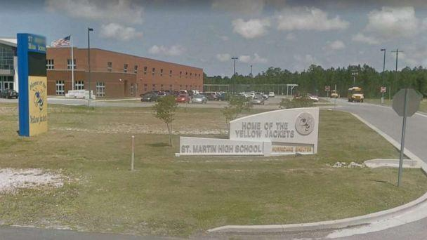 PHOTO: A 14-year-old student at St. Martin High School in Jackson, Miss., was arrested Saturday, Sept. 7, 2019, for threatening to 'shoot up the school' on social media. (Google Maps)