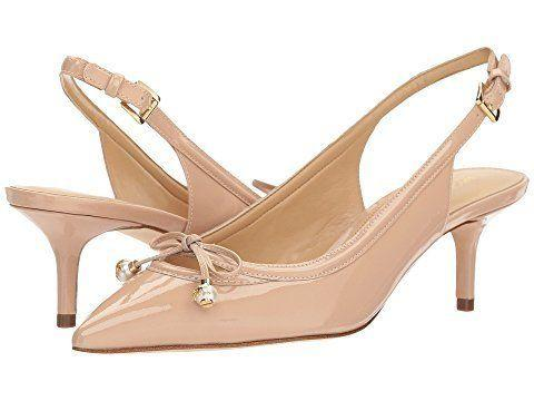 "Get them at <a href=""https://www.zappos.com/p/michael-michael-kors-gia-sling-light-blush-patent/product/9070371/color/612098"" target=""_blank"">Zappos</a> for $120."