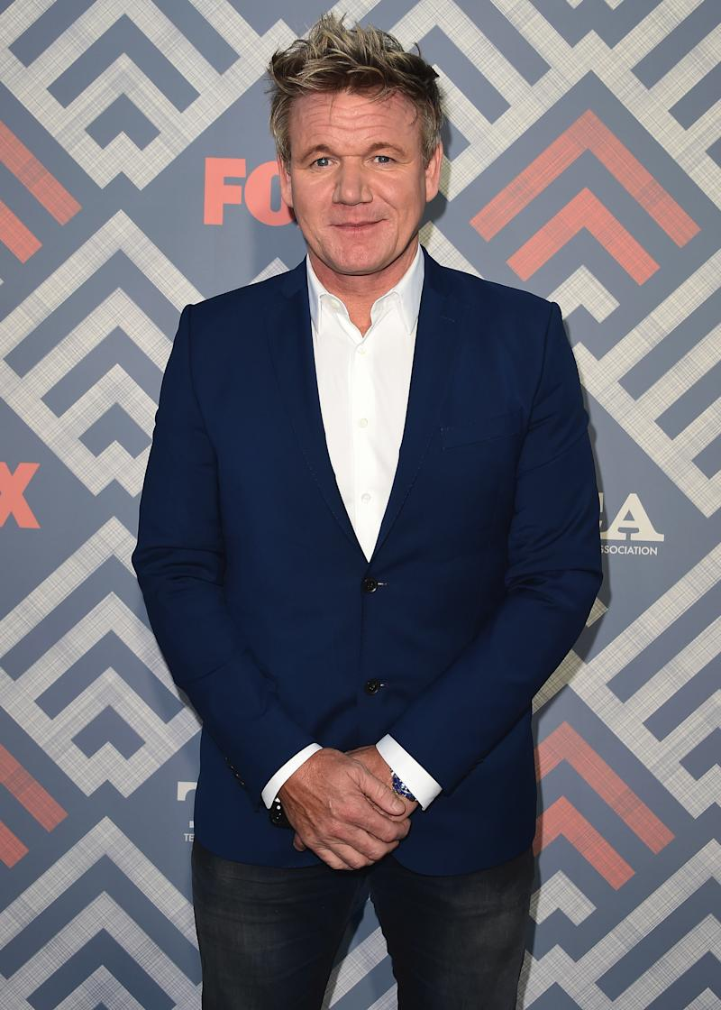 WEST HOLLYWOOD - AUGUST 8: Gordon Ramsay at the FOX and FX 2017 Summer TCA All-Star party at Soho House on August 8, 2017 in West Hollywood, California. (Photo by Scott Kirkland/FOX/PictureGroup) *** Please Use Credit from Credit Field ***