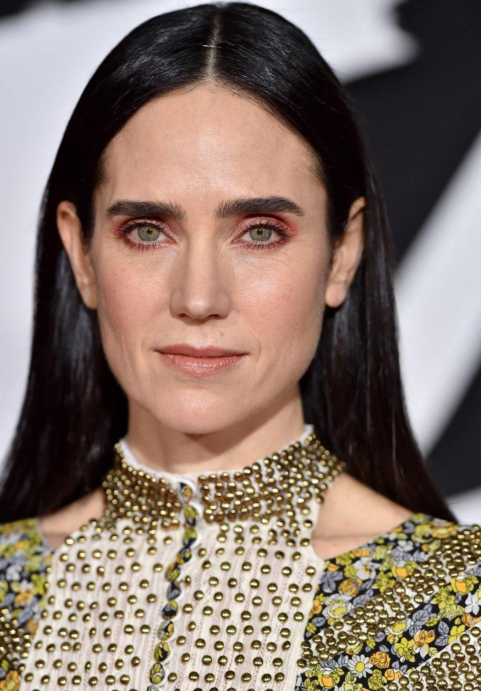 <p>Connelly's beautiful blue-green eyes are flecked with gold and a somewhat darker outer ring, giving her a unique and captivating gaze. </p>