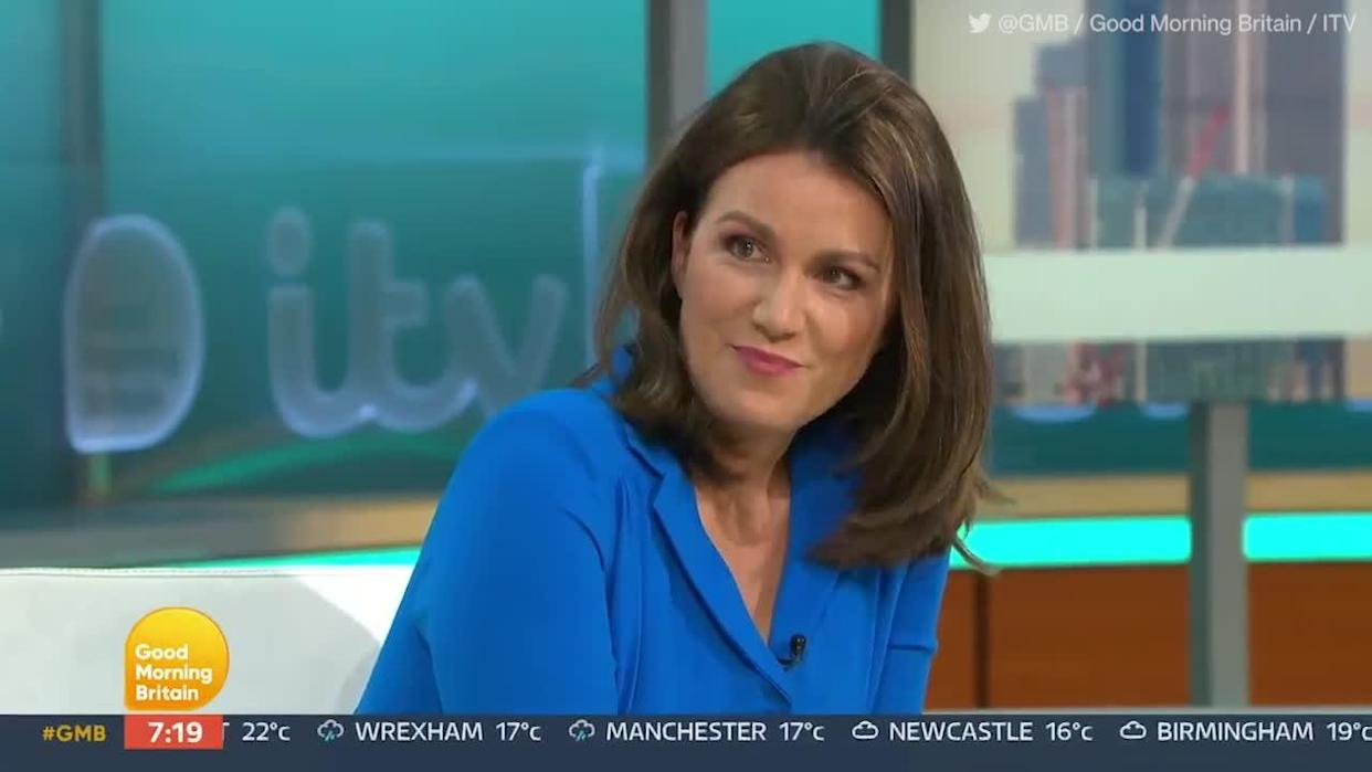 <p>Ranvir Singh called out Richard Madeley's 'privilege' after the GMB host asked her to 'dry your eyes'. Hisd co-host had been brought to tears by the anti-racism letter written by Marcus Rashford had been read out by Susanna Reid.</p> <p>Credit: @GMB / Good Morning Britain / ITV</p>