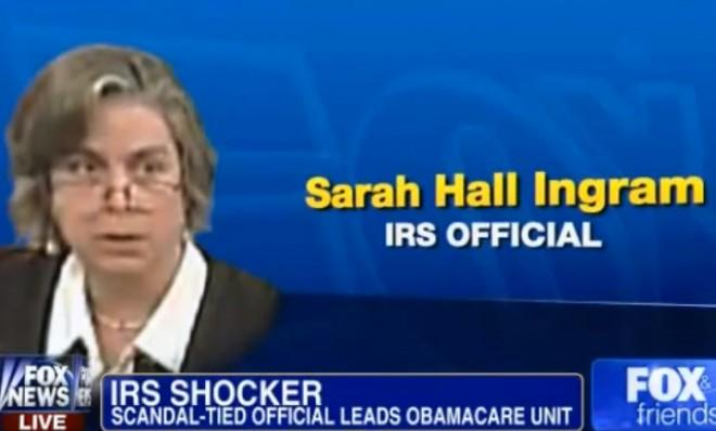 Sarah Hall Ingram finds herself at the center of the IRS scandal.