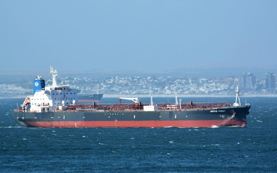 File image of the attacked vessel, the Mercer Street - Johan Victor /Johan Victor
