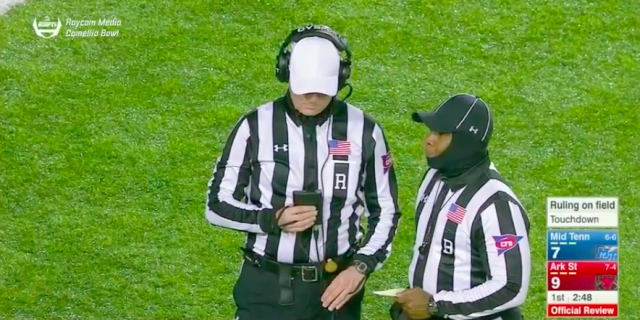 After review, the ruling on the field is ¯\_(ツ)_/¯