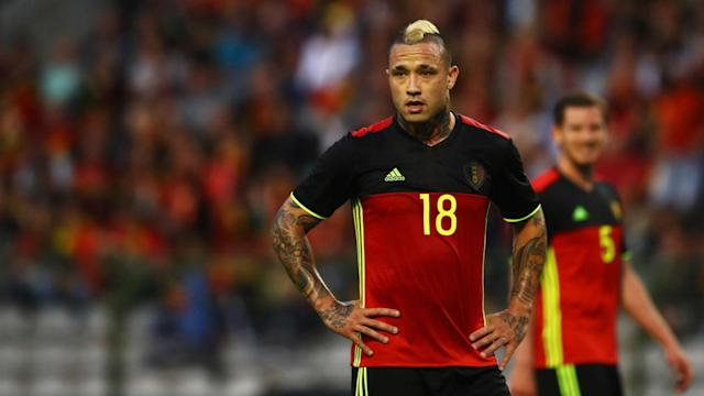 Roberto Martinez has brought Radja Nainggolan back into the Belgium squad, but Christian Benteke has not been able to work his way back.