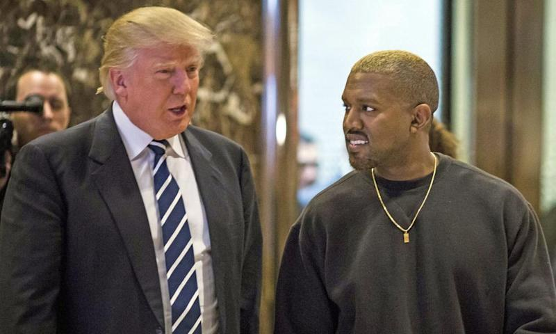 Kanye West meets Donald Trump at Trump Tower on 13 December 2016. It is not clear if they have been in direct contact since.