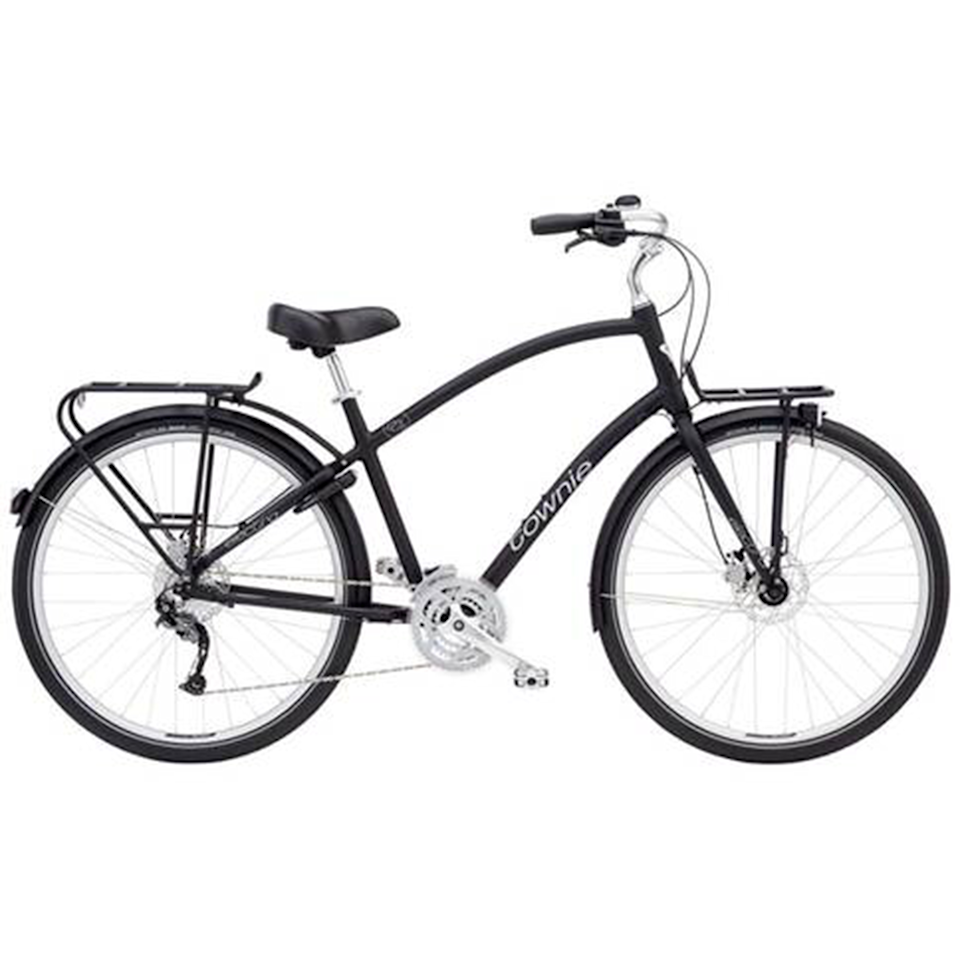 """<p><a class=""""link rapid-noclick-resp"""" href=""""https://go.redirectingat.com?id=127X1599956&url=https%3A%2F%2Fwww.evanscycles.com%2Felectra-townie-27d-eq-2020-women-s-hybrid-bike-EV381560&sref=https%3A%2F%2Fwww.womenshealthmag.com%2Fuk%2Fgym-wear%2Fg32740535%2Fbest-bikes%2F"""" rel=""""nofollow noopener"""" target=""""_blank"""" data-ylk=""""slk:SHOP NOW"""">SHOP NOW</a></p><p><strong>Price: </strong>£720</p><p>Thanks to their more upright seat position, padded saddle and medium-width tyres, hybrid bikes are designed to be versatile and comfortable for casual riders. Think: <a href=""""//www.womenshealthmag.com/uk/fitness/fitness-holidays/a705152/the-best-healthy-snacks-to-see-you-through-your-train-commute/"""" data-ylk=""""slk:commutes"""" class=""""link rapid-noclick-resp"""">commutes</a>, family bike rides, trips to the shops. </p><p>This 'Townie' bike ticks all of those boxes: it has an upright seated position that allows the rider to put their feet on the ground whenever they want, which means it's a comfortable bike that's easy to control. </p><p><strong>Number of gears: </strong>27 </p><p><strong>Frame</strong>: 6061-T6 Aluminium, Flat Foot Technology</p>"""