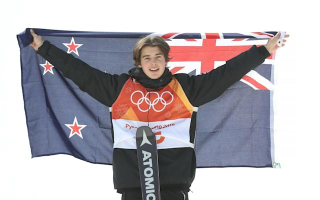 Nico Porteous, a 16-year-old from New Zealand, won bronze in the halfpipe - Getty Images AsiaPac