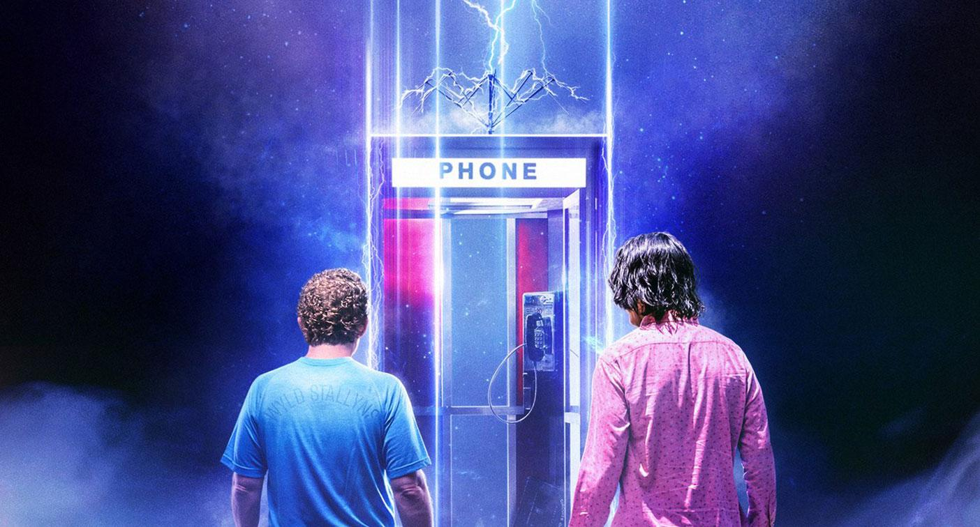 Detail from the new poster for Bill & Ted Face The Music. (WB)
