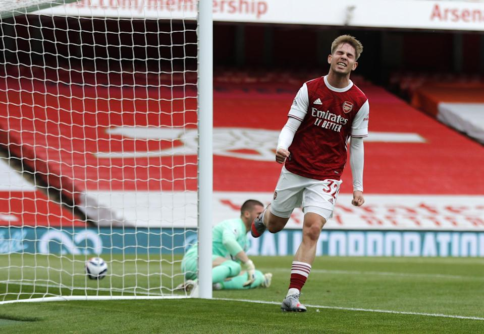 Arsenal's Emile Smith Rowe has signed a new contract at the club (Frank Augstein/PA) (PA Wire)