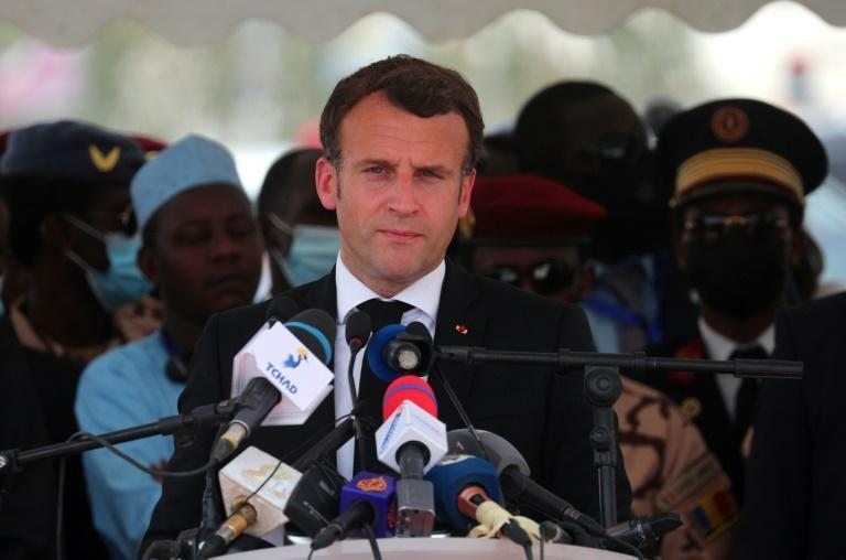 Macron vowed to protect Chad's stability and territory
