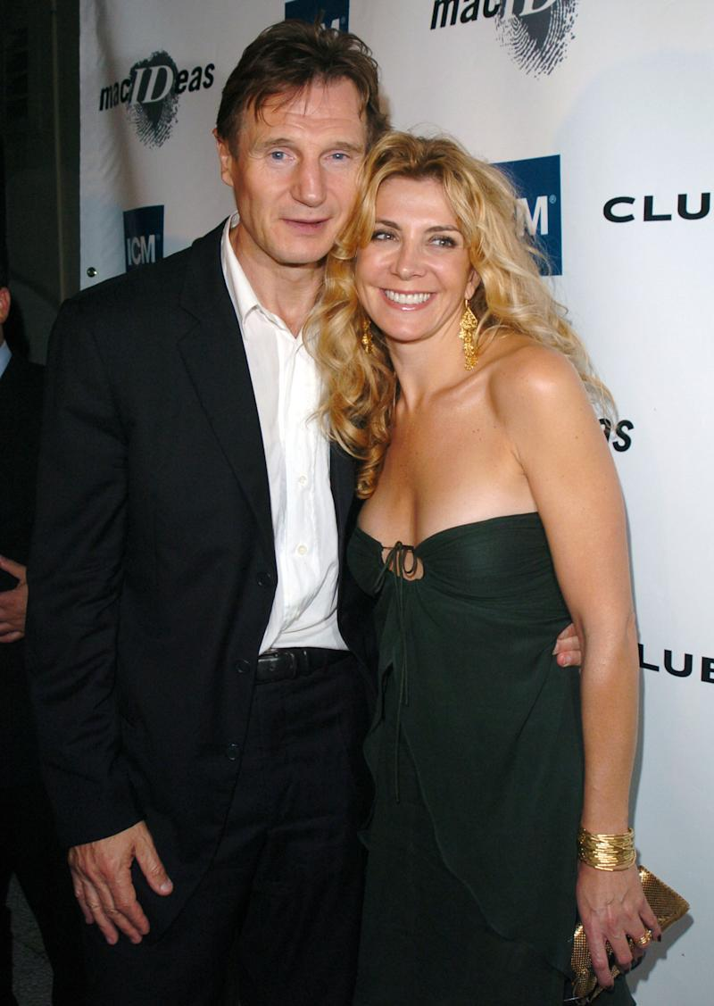 Liam neeson opens up about the sweet surprise his late for Natasha richardson and liam neeson