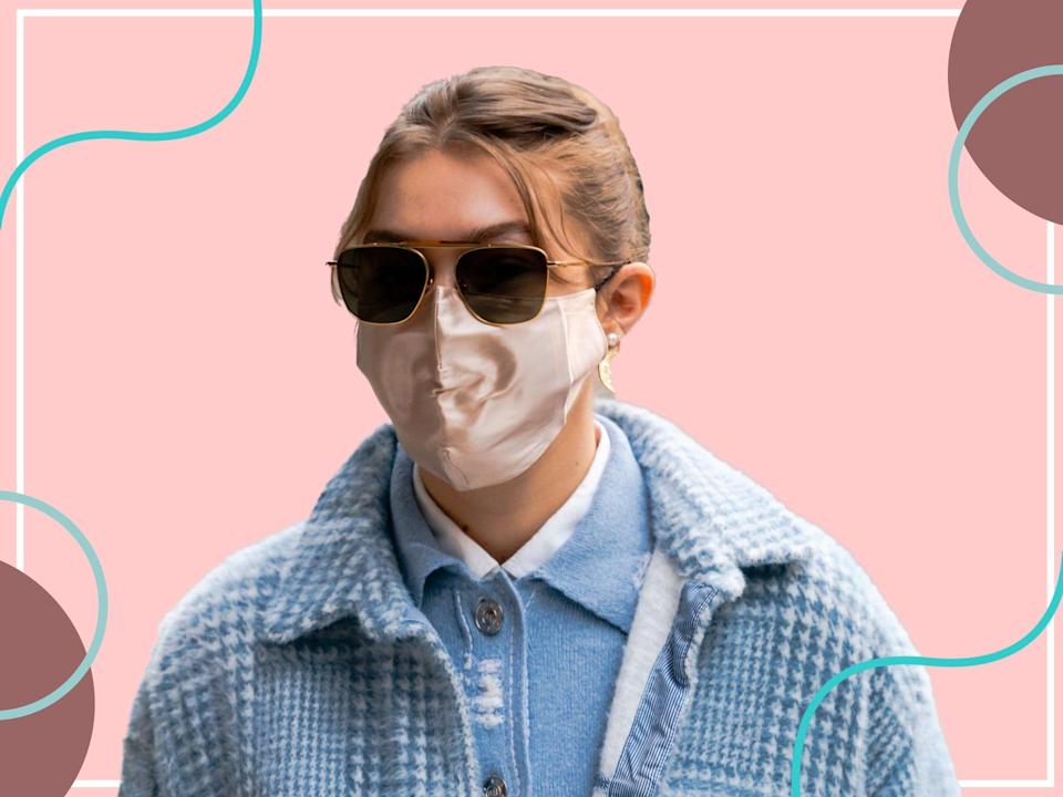 <p>These celeb faves can help reduce 'maskne' – breakouts caused by wearing face coverings</p> (Getty)