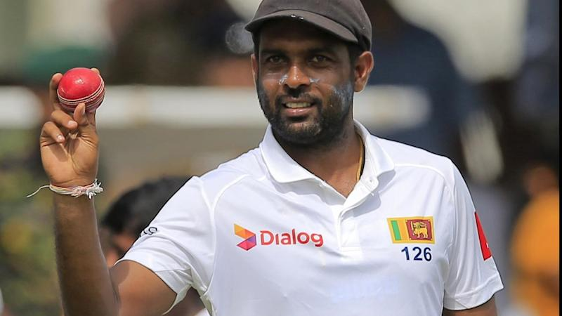 Dilruwan Perera produced a 10-wicket haul as Sri Lanka thrashed South Africa in the first Test