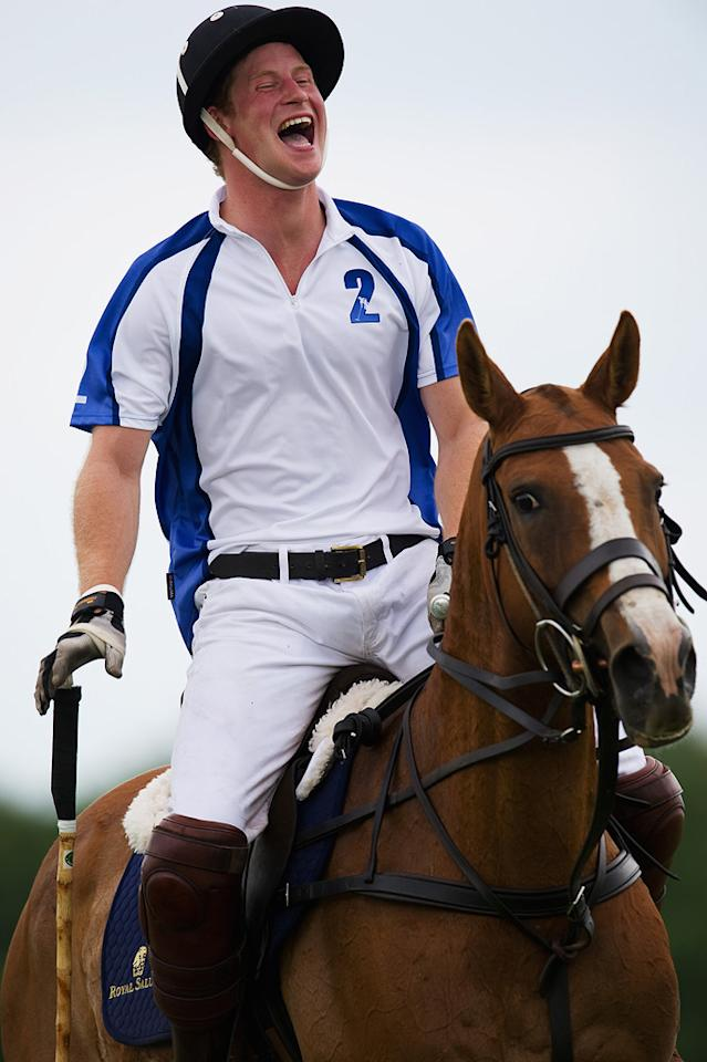 """Prince Harry turns 27. Jon Nicholson/<a href=""""http://www.gettyimages.com/"""" target=""""new"""">GettyImages.com</a> - July 2, 2011"""