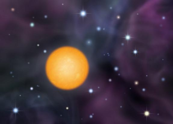 The second generation of stars formed from the material forged in the heart of the first generation. The interior of SDS J0018-0939, a star in the Milky Way's halo, reveals information about the makeup of the first stars in the universe.