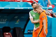 Matthijs de Ligt's red card cost the Netherlands dear as they were knocked out of Euro 2020