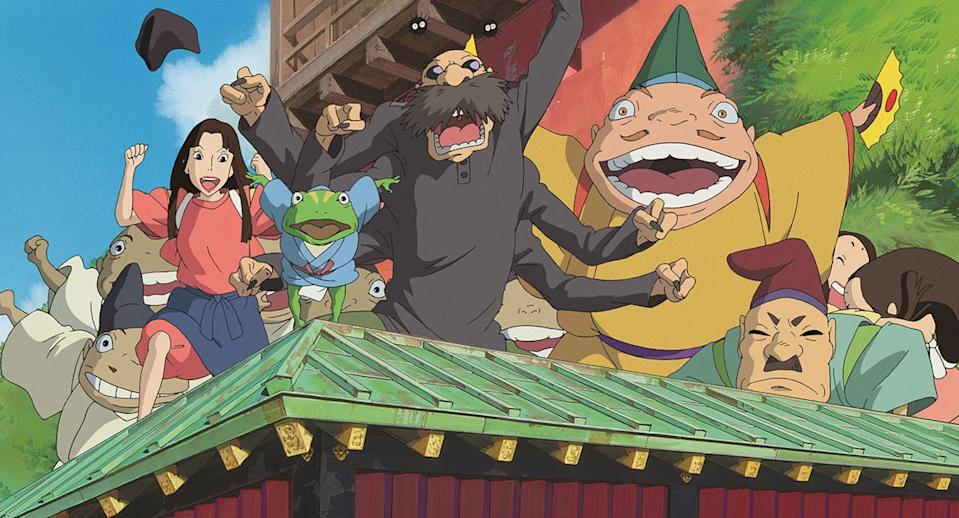 Spirited Away was first released in 2001