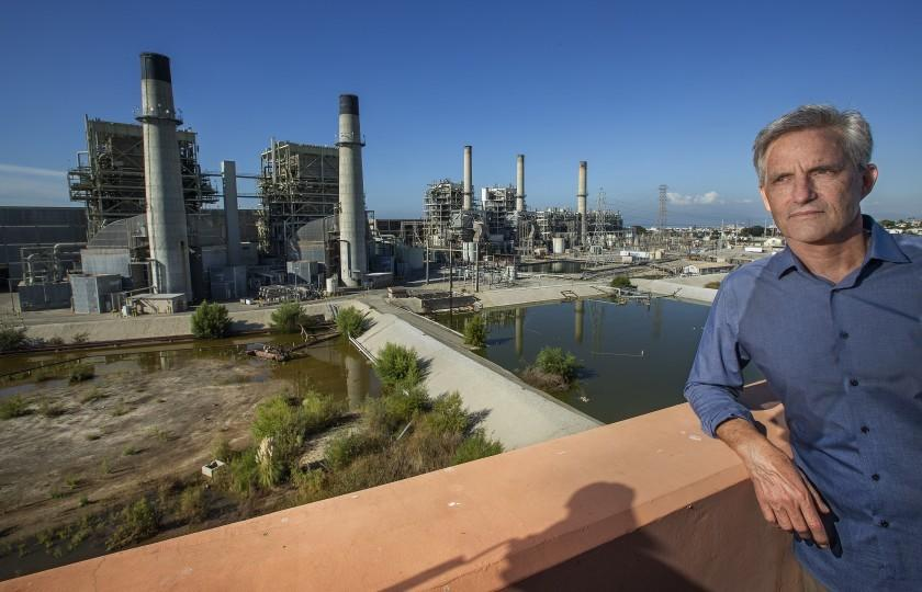 Redondo Beach Mayor Bill Brand has fought for years to shut down the gas-fired AES power plant in his city.