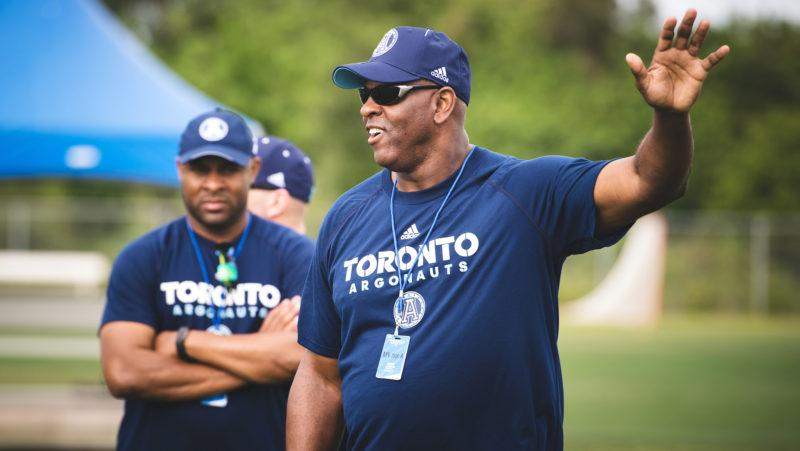 Two decades after his last CFL experience with the Shreveport Pirates, D-line coach Kerry Locklin hopes to have better go-round with the Toronto Argonauts.