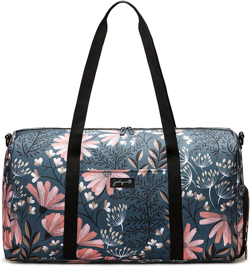 "<p>If you love patterns you'll love the <span>Jadyn B 22"" Women's Large Duffel/Weekender Bags</span> ($40). It's easy to clean and has a lot of storage space.</p>"