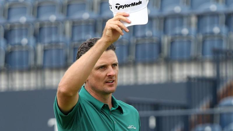 Justin Rose has posted the lowest score in Carnoustie's British Open history, a seven-under-par 64