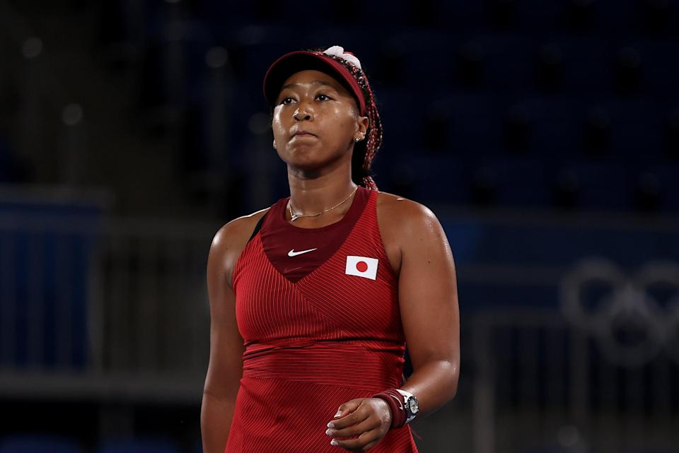 Naomi Osaka had been the favourite for gold after Ash Barty's shock loss (Getty Images)