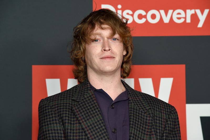 "Caleb Landry Jones attends Discovery Channel's ""Why We Hate"" Premiere Screening on October 07, 2019. (Photo by Michael Kovac/Getty Images for Discovery, Inc.)"