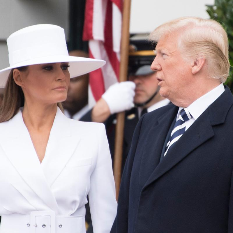 Melania Trump   Really Doesn't Want to Hold Donald Trump's Hand