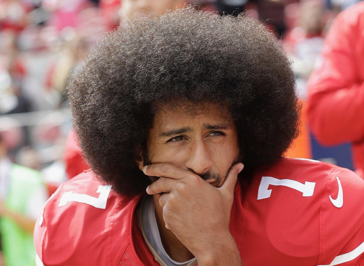 Colin Kaepernick's lawyer had harsh words for John Elway, whom he accused of violating a gag order in his client's collusion case against NFL. (AP)